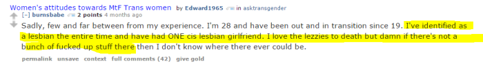 lesbians are fucked up